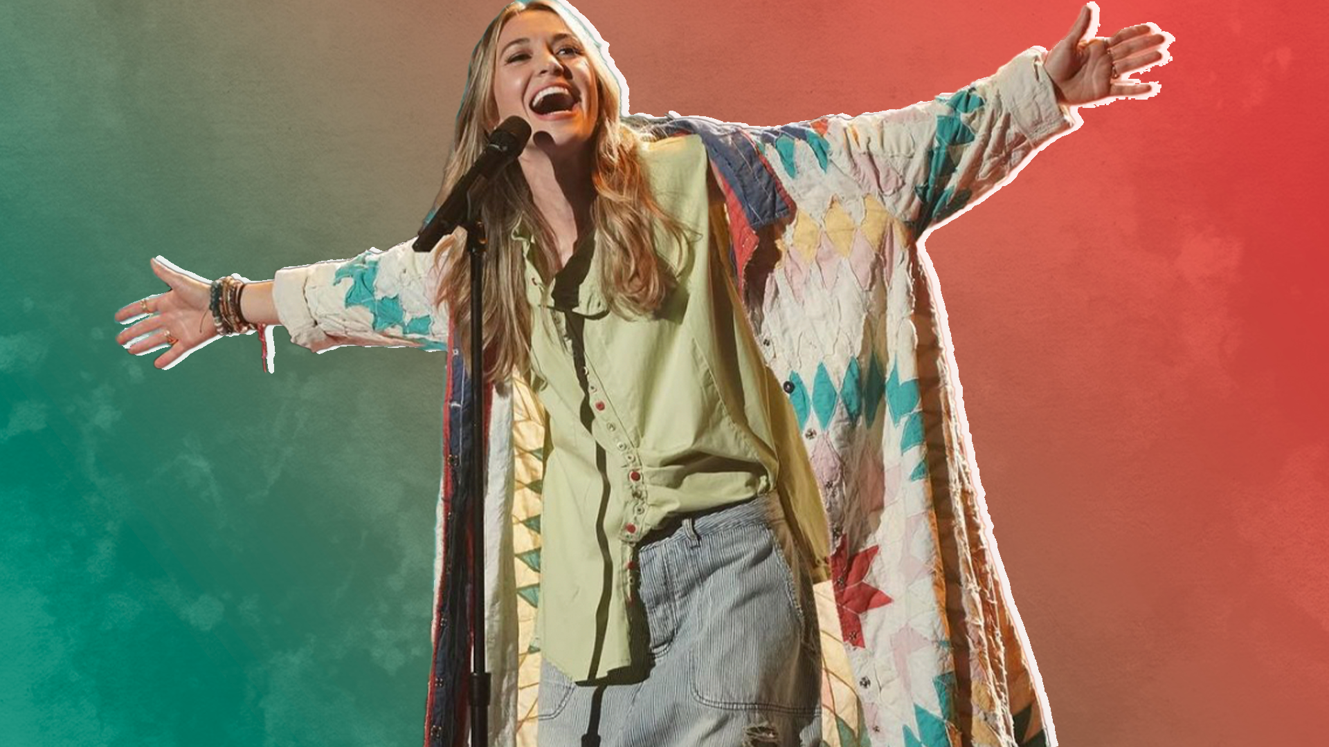 Lauren Daigle performs You Say on American Idol stage